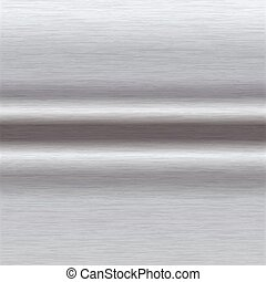 brushed aluminium surface