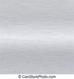 brushed aluminium surface - background or texture of brushed...