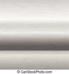 brushed aluminium surface - background or texture of brushed...