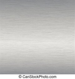 brushed steel surface