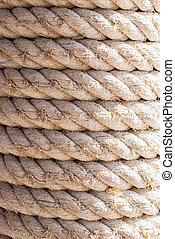Background or texture of rope