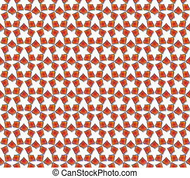 petals reddish orange florets - background or texture petals...