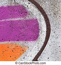 sprayed concrete block