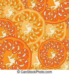 Background orange fruit vector