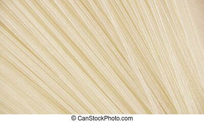 Background pasta rotate clockwise top view - Japanese rice...
