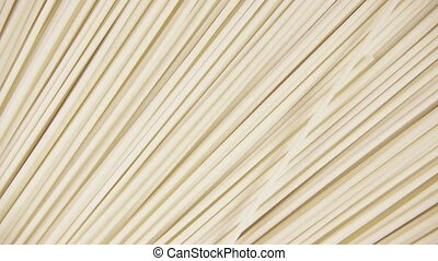 Background pasta rotate clockwise top view - Japanese wheat...