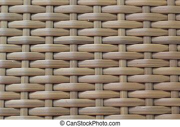 Background pattern brown weave.
