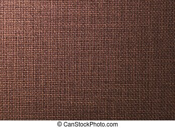 Background Pattern of Dark Brown Textile Texture