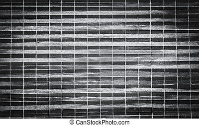 Background pattern of folded black paper in 512 parts