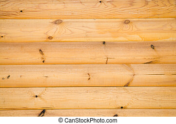 pine balk wall - background pattern of natural pine balk ...
