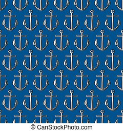 background pattern with anchors