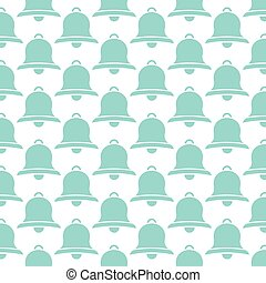background pattern with bells