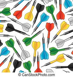 background pattern with darts