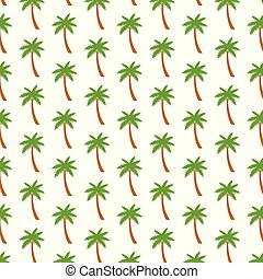 background pattern with palm trees