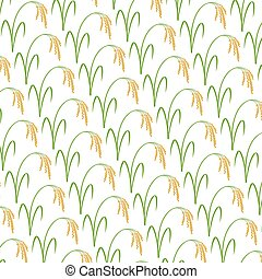 background pattern with rice