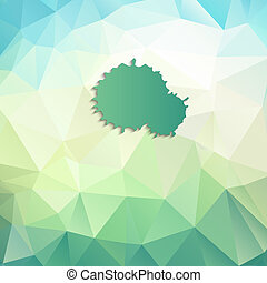 background poligonal - Abstract geometric background with...