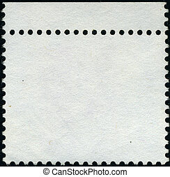 Background Postage stamp.