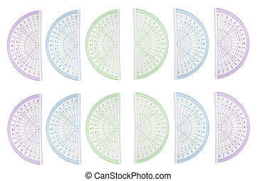 Background protractors