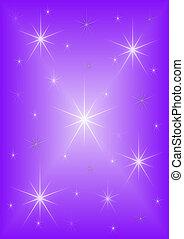 Background purple stars
