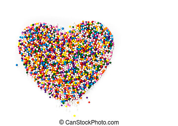 Background Rainbow Colored Sprinkle