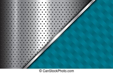 Background red silver metallic