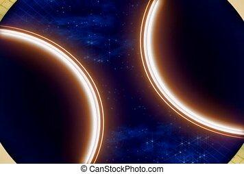 background, rotation, glow