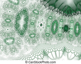 Background science or medical concept. Biochemistry concept. Fractal art