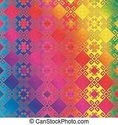 pattern multicolour - Background seamless pattern...
