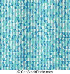 Background seamless pattern of triangles
