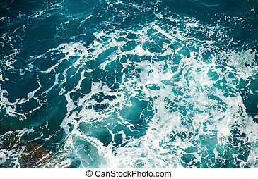 Background shot of sea water surface