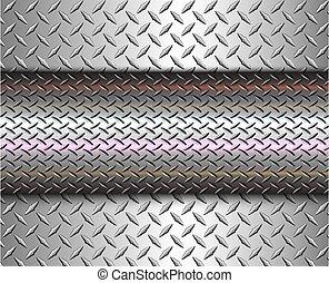 Background silver metallic, 3d chrome