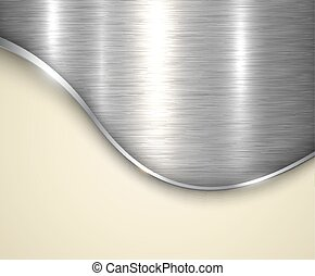 Background silver metallic