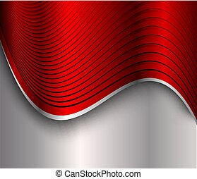Background silver red