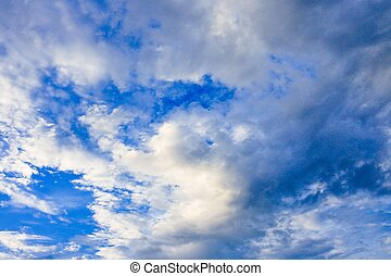 background Sky with cloud
