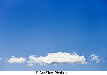 Background - sky with clouds