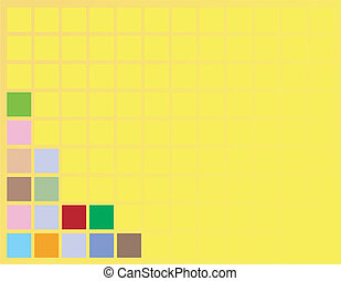 background squares - A square design that can be used as a...