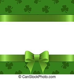 Background St. Patrick with space for text.