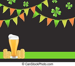 Background St. Patrick's Day