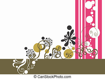 Background - Illustration of a decorative background