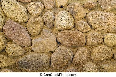 Background stone fence