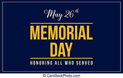 Background style of memorial day collection