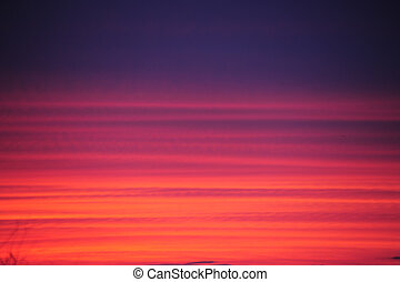 Background - Sunset Panned Blue