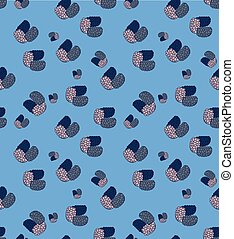 Background sweet style mulberry - Vector pattern style in...