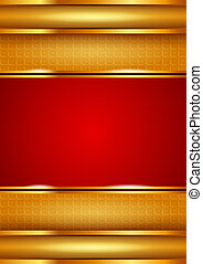 Background template, red