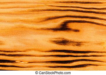 burned brown pine wood