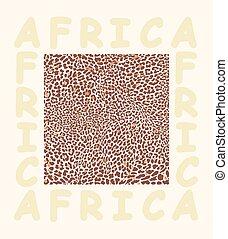 Background texture leopard