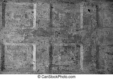 Background texture metal aged grunge door square pattern...