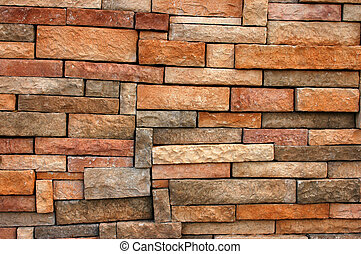 Background texture of brick wall