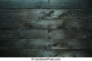 Background texture of burnt scorched wood