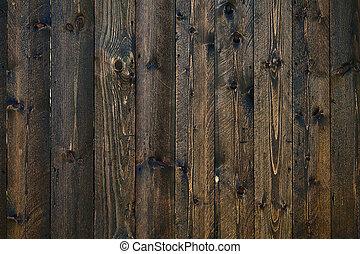dark brown planks closeup